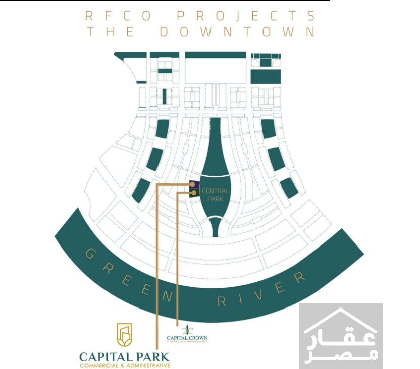كابيتال بارك تاور العاصمة الإدارية Capital Park Tower