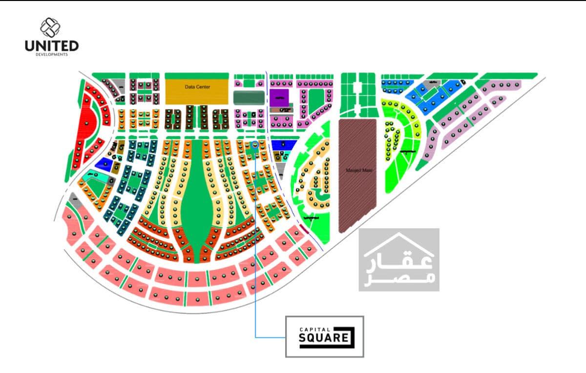 مول كابيتال سكوير العاصمة الإدارية Capital Square Mall New Capital