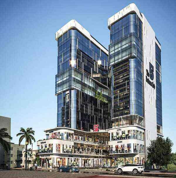فايف بيزنس هب العاصمة الإدارية الجديدة 5business hub new capital