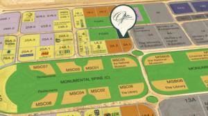 موقع برج ذا اوفيس العاصمة الإدارية