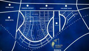 موقع رونزا تاور العاصمة الإدارية