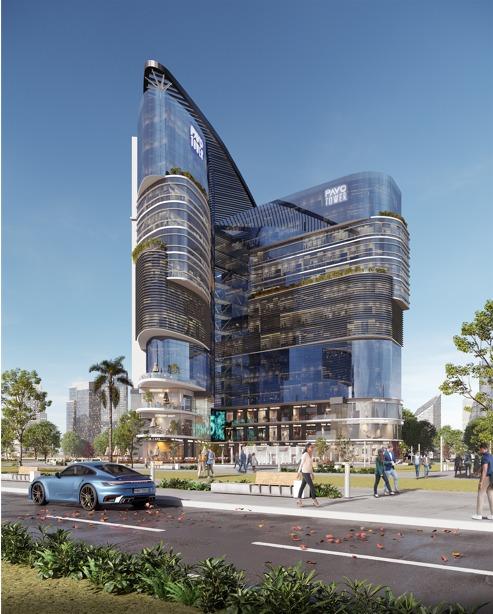 مول بافو تاور العاصمة الإدارية Pavo Tower New Capital