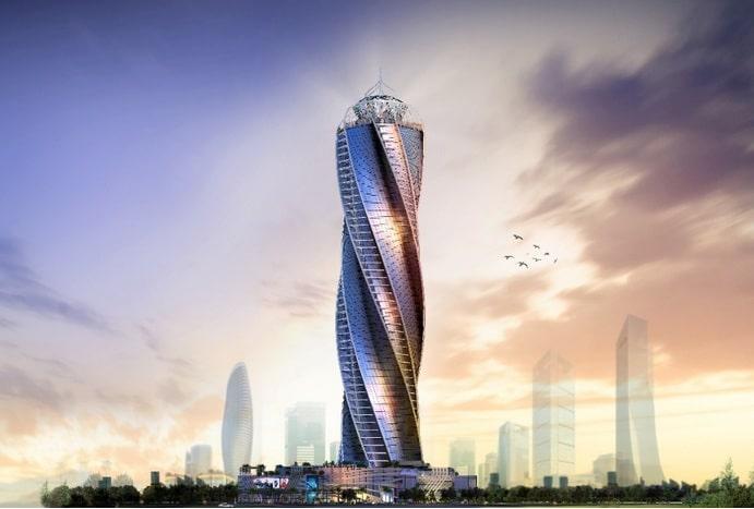 كابيتال دايموند تاور العاصمة الإدارية Capital Diamond Tower