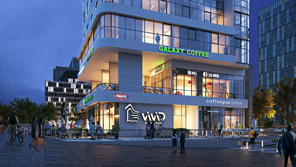 مول فيفيد تاور العاصمة الإدارية الجديدة ViViD Tower New Capital