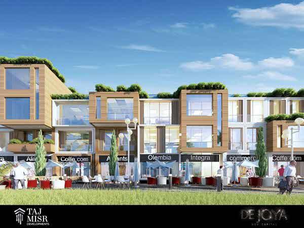 ديجويا ستريب مول العاصمة الإدارية De Joya strip mall New Capital