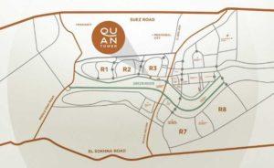 موقع كوان تاور العاصمة الإدارية