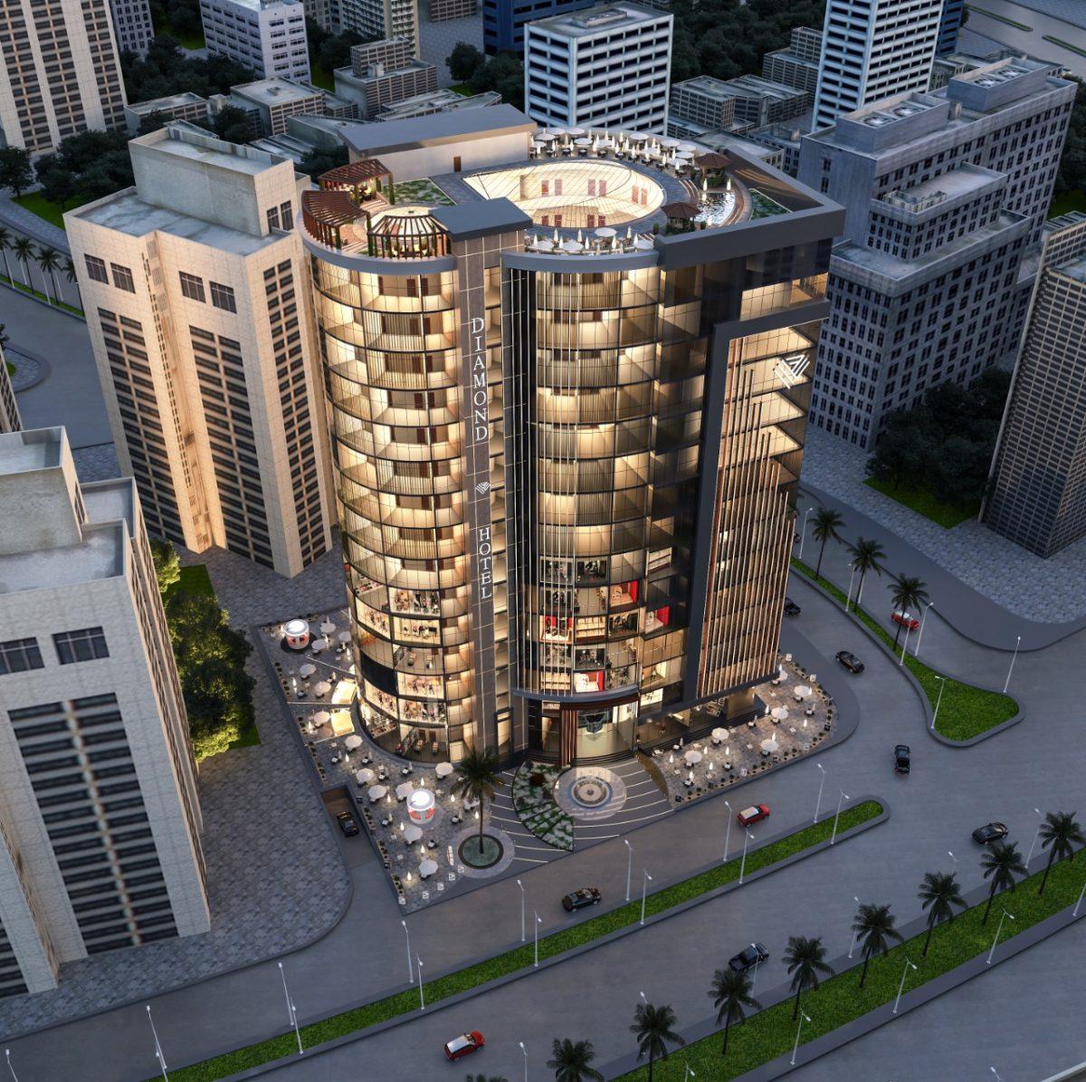 دايموند تاور 2 العاصمة الإدارية Diamond Tower 2