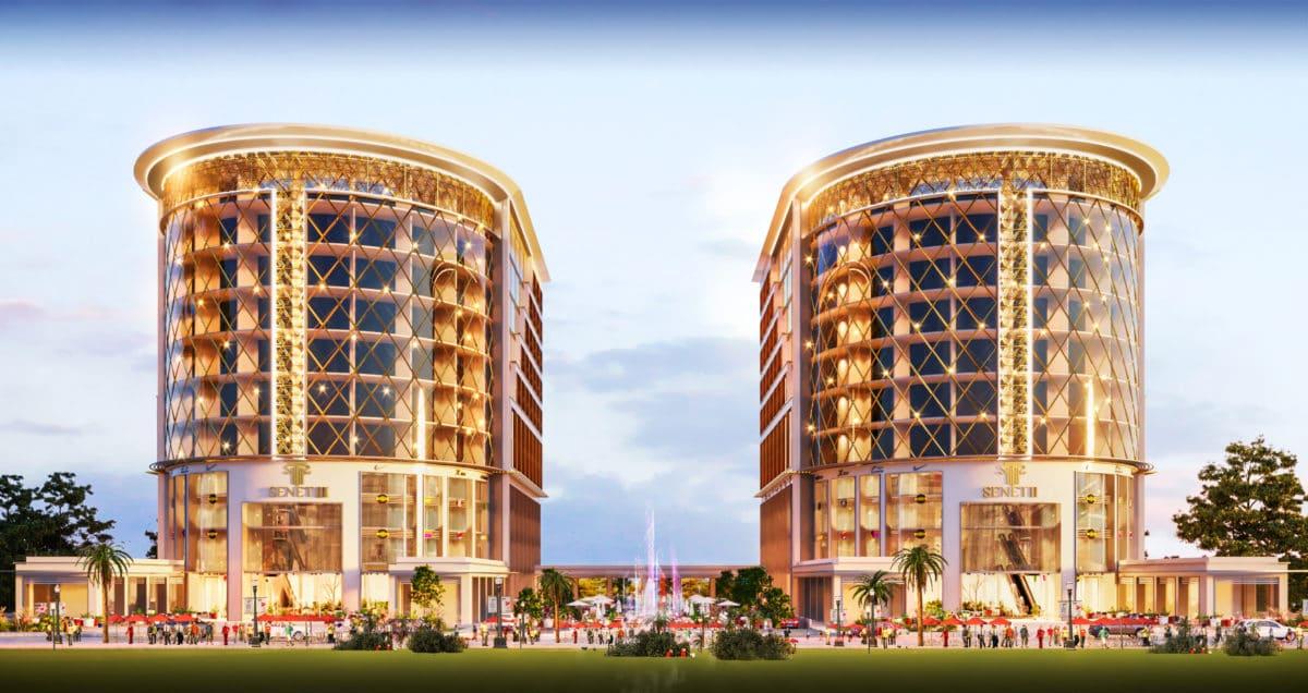 مول سينيت 3 العاصمة الإدارية الجديدة Senet 3 Mall New Capital